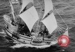 Image of ship Mayflower II Plymouth Massachusetts USA, 1957, second 11 stock footage video 65675070195