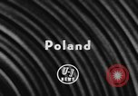 Image of American cars Poznan Poland, 1957, second 2 stock footage video 65675070197