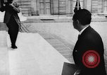 Image of Maurice Bourgès Maunoury Paris France, 1957, second 11 stock footage video 65675070198