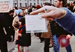 Image of high school band members Washington DC USA, 1973, second 7 stock footage video 65675070210