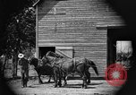 Image of horse-drawn binder United States USA, 1919, second 2 stock footage video 65675070233