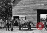 Image of horse-drawn binder United States USA, 1919, second 4 stock footage video 65675070233