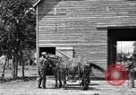 Image of horse-drawn binder United States USA, 1919, second 12 stock footage video 65675070233