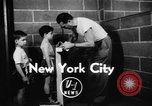 Image of boys boxing competition New York City USA, 1948, second 3 stock footage video 65675070239