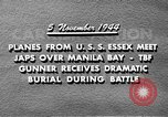 Image of USS Wasp Manila Philippines, 1944, second 8 stock footage video 65675070250