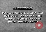 Image of USS Wasp Manila Philippines, 1944, second 9 stock footage video 65675070250