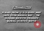 Image of USS Wasp Manila Philippines, 1944, second 11 stock footage video 65675070250