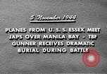 Image of USS Wasp Manila Philippines, 1944, second 12 stock footage video 65675070250