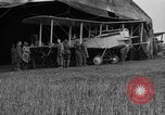 Image of DH-4 biplane bomber Colombey-les-Belles France, 1918, second 3 stock footage video 65675070256