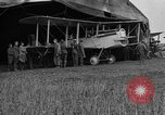 Image of DH-4 biplane bomber Colombey-les-Belles France, 1918, second 4 stock footage video 65675070256