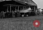 Image of DH-4 biplane bomber Colombey-les-Belles France, 1918, second 5 stock footage video 65675070256