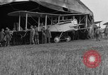 Image of DH-4 biplane bomber Colombey-les-Belles France, 1918, second 6 stock footage video 65675070256