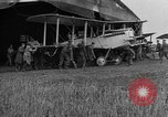 Image of DH-4 biplane bomber Colombey-les-Belles France, 1918, second 7 stock footage video 65675070256