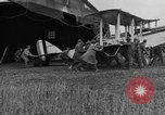 Image of DH-4 biplane bomber Colombey-les-Belles France, 1918, second 10 stock footage video 65675070256