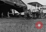 Image of DH-4 biplane bomber Colombey-les-Belles France, 1918, second 11 stock footage video 65675070256