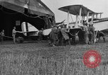 Image of DH-4 biplane bomber Colombey-les-Belles France, 1918, second 12 stock footage video 65675070256
