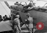Image of Vickers machine gun on Brequet 14 airplane Colombey-les-Belles France, 1918, second 1 stock footage video 65675070263