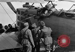 Image of Vickers machine gun on Brequet 14 airplane Colombey-les-Belles France, 1918, second 3 stock footage video 65675070263