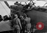 Image of Vickers machine gun on Brequet 14 airplane Colombey-les-Belles France, 1918, second 4 stock footage video 65675070263