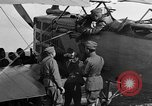 Image of Vickers machine gun on Brequet 14 airplane Colombey-les-Belles France, 1918, second 6 stock footage video 65675070263