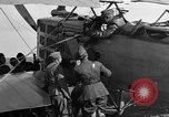 Image of Vickers machine gun on Brequet 14 airplane Colombey-les-Belles France, 1918, second 7 stock footage video 65675070263