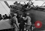 Image of Vickers machine gun on Brequet 14 airplane Colombey-les-Belles France, 1918, second 9 stock footage video 65675070263
