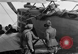 Image of Vickers machine gun on Brequet 14 airplane Colombey-les-Belles France, 1918, second 12 stock footage video 65675070263
