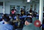Image of Vietnamese rock band Vietnam, 1968, second 12 stock footage video 65675070269