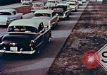 Image of drive in banking Florida United States USA, 1958, second 4 stock footage video 65675070278