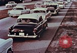 Image of drive in banking Florida United States USA, 1958, second 5 stock footage video 65675070278