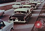Image of drive in banking Florida United States USA, 1958, second 6 stock footage video 65675070278