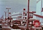 Image of drive in banking Florida United States USA, 1958, second 7 stock footage video 65675070278