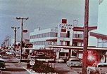Image of drive in banking Florida United States USA, 1958, second 8 stock footage video 65675070278