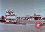 Image of drive-in restaurant Florida United States USA, 1958, second 4 stock footage video 65675070279