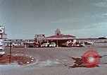 Image of drive-in restaurant Florida United States USA, 1958, second 5 stock footage video 65675070279