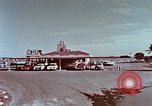 Image of drive-in restaurant Florida United States USA, 1958, second 6 stock footage video 65675070279