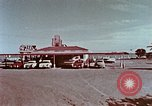 Image of drive-in restaurant Florida United States USA, 1958, second 7 stock footage video 65675070279