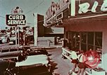 Image of drive-in restaurant Florida United States USA, 1958, second 11 stock footage video 65675070279