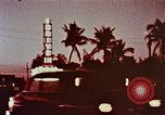 Image of drive-in theater Florida United States USA, 1958, second 2 stock footage video 65675070280