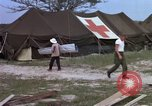 Image of evacuation of casualties Vietnam, 1965, second 7 stock footage video 65675070294
