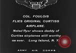 Image of Curtiss aircraft Long Island New York USA, 1928, second 2 stock footage video 65675070306