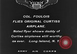 Image of Curtiss aircraft Long Island New York USA, 1928, second 3 stock footage video 65675070306
