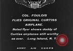 Image of Curtiss aircraft Long Island New York USA, 1928, second 4 stock footage video 65675070306