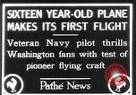 Image of Curtiss aircraft Washington DC USA, 1928, second 1 stock footage video 65675070307