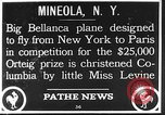 Image of Bellanca aircraft Mineola New York USA, 1928, second 1 stock footage video 65675070309