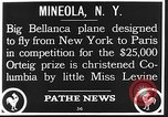 Image of Bellanca aircraft Mineola New York USA, 1928, second 4 stock footage video 65675070309