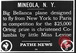 Image of Bellanca aircraft Mineola New York USA, 1928, second 6 stock footage video 65675070309