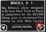 Image of Bellanca aircraft Mineola New York USA, 1928, second 10 stock footage video 65675070309