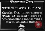 Image of American aviators Croydon London England United Kingdom, 1928, second 2 stock footage video 65675070312