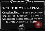 Image of American aviators Croydon London England United Kingdom, 1928, second 10 stock footage video 65675070312